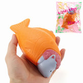 Squishy Fish Sheep Bread Cake 15cm Langsom Stigende Med Packaging Collection Gift Decor Soft Toy