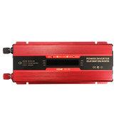 6000W piek LCD zonne-energieomvormer DC12 / 24V naar AC 110V / 220V converter