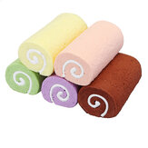 Torta Squishy Swiss Roll 10CM Cuscino da polso Cuscino a mano Rising Fun Toys Decorazione Regali