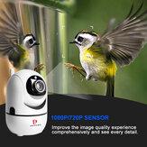 Pripaso Auto Tracking IP Cam Home Security AI Camera 1080P Draadloze camera Wifi Surveillance Smart IR CUT Nachtzichtcamera