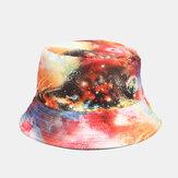 Cappello da pescatore con cappello da pescatore in cotone da donna Galaxy Fisherman Hat