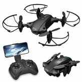 H2 Mini Drone WIFI FPV With 4K HD Camera 15mins Flight Time Air Pressure Altitude Hold Foldable RC Drone Quadcopter RTF
