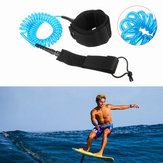 IPRee® 10ft 7mm Coiled Surfboard Leash Surfing Stand UP Paddle Board String Leg Corda
