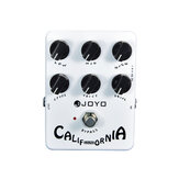 JOYO JF-15 California Sound Electric Guitar Effect Pedal True Bypass with gold Guitar Pedal Connector and Mooer Knob