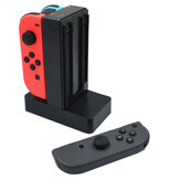 Carregador Dock Station Carregador Stand para Nintendo Switch 4 Joy-Con Controller