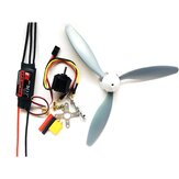 Hobbywing Skywalker 30A ESC + 1400KV 2212 Motor + 3 Blade 8060 Propeller Power Combo RC Airplane DIY Set