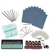 HILDA 90Pcs Rotary Tool Accessories Bit Set Grinding Sanding Polishing Drilling Kit