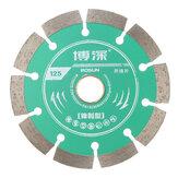 Piła tarczowa o średnicy 125 mm wykonana z blachy stalowej i betonu