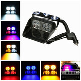 LED forrude Advarsel Light Car Flash Police Beacon Emergency Strobe Signal vindrude lampe 12V
