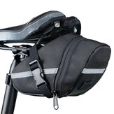 Canvas Bike Saddle Bag Lightweight Bike Bag Cycling Tail Bag Storage Bag