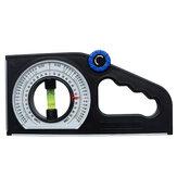 Instrument multifonctionnel de mesure de niveau d'échelle de pente de trouveur d'angle de rapporteur avec l'outil magnétique de mesure de haute précision de base
