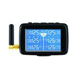 Sistema di monitoraggio della pressione dei pneumatici wireless CAREUD U901T TPMS con 6 sensori esterni sostituibili Batteria LCD Display per camion auto