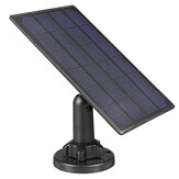 5V High Efficiency Waterproof Solar Panel For Security Camera With 3m/10Ft Charging Cable for IP CCTV Dome