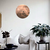 30Cm Large Moon Glow In The Dark Noctilucence Planet Celestial Stickers Luminous DIY Wall Sticker