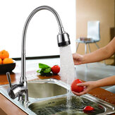 Kitchen 360° Swivel Spout Single Handle Sink Faucet Pull Down Spray Mixer Tap