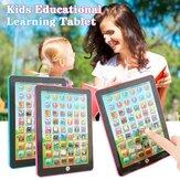 Strumento di apprendimento educativo per computer tablet portatile per bambini rosa / blu per giocattoli per bambini
