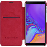 Nillkin Protective Case For Samsung Galaxy A7 2018 Auto Sleep Card Slot Flip PU Leather Cover