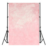 5x7ft Pink Romantic Theme Photography Vinyl Background Backdrop for Studio 1.5x2.1m
