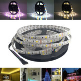 5M SMD 5050 300 LED Waterdichte RGBWW Strip Flexibele Tape Light Christmas Home Decoration Lamp DC12V