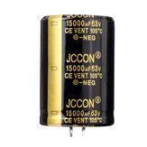 3 قطع 15000 فائق التوهج 63 فولت 30 × 50 مم مكثف شعاعي من الألمنيوم كهربائيا التردد العالي 105 درجة مئوية
