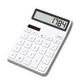LEMO Calculadora De Mesa Fotoelétrica Dupla Unidade 12 Display Numérico Calculadora De Desligamento Automático Para Finanças Do Escritório De Xiaomi Youpin