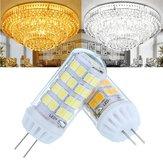 AC100-240V 4.5W No Strobe Ceramic G4 52LED Lampadina a luce di mais per lampadario a soffitto lampada Sostituzione