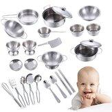 Kitchen Kid Child Pretend Role Play Kitchen Accessories Toy food Set for Children Cooking Gifts Toy