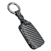 Carbon Fiber Color Silicone Remote Key Case Cover Fob For VW Tiguan Golf Skoda Octavia
