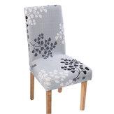 Capa elástica para cadeira de jantar Stretch Chair Seat Slipcover Computador para escritório Protetor de cadeira para casa Decoração de móveis de escritório