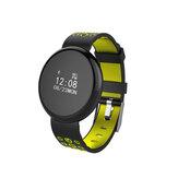 I8 0.66 'Ekran dotykowy IP68 Monitor tętna z tlenem krwi Połączenie Odrzuć Wiadomość Przypomnienie Inteligentny zegarek