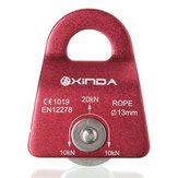 Xinda 20KN Mountain Rock Climbing mobiele katrol Single Side voor 13mm touwgereedschap