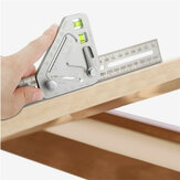 350MM Multi-function Woodworking Triangle Ruler Angle Ruler Revolutionary Carpentry Tool Measuring Tool