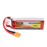 ZOP Power 11.1V 2200mAh 60C 3S Lipo Battery XT60 Plug for RC Quadcopter