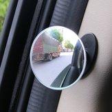 5CMカーBピラードアサイドブラインドスポットバックミラーHD凸面鏡360°広角ミラー