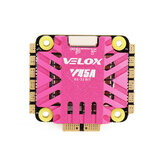 30.5x30.5 مللي متر T-motor Velox V45A 45A 3-6S BLheli_32 4In1 Brushless ESC DShot1200 w / 10V BEC Output for 170-450mm RC Drone FPV Racing