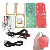 EQKIT® FM Stereo Radio Kit 76-108Mhz Frequency 180mAh 32Ω Impedance YFM-1 DIY Electronic Parts