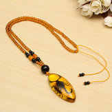 Unique Natural Insects Amber Scorpion Inclusion Pendant Necklace Gemstone Ornament Crafts Gifts Decorations