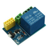 ESP-01S Relay Module WiFi Smart Remote Switch Phone APP Geekcreit for Arduino - products that work with official Arduino boards