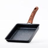 Mini casserole antiadhésive d'oeufs frits avec cuiseur à induction à usage général en fer