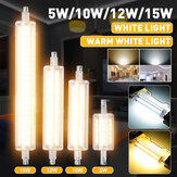 Dimmable 5W 10W 12W 15W R7S LED Corn Bulb 2835 SMD Floodlight Replace Halogen Lamp Indoor Home Lighting