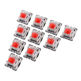 10PCS Pack 3Pin Gateron Linear Red Switch Keyboard Switch for Mechanical Gaming Keyboard