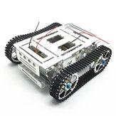 دي سبائك الألومنيوم تعقب أرسي روبوت الهيكل خزان سيارة مع مجموعة الزاحف