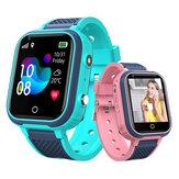 Bakeey Q10 1.4 inç Dokunmatik Ekran Çocuk Vücut Sıcaklığı Ölçme GPS LBS WIFI Konum İzleme İki yönlü Çağrı SOS Kamera IP67 Su Geçirmez Çocuk Akıllı Seyretmek Telefon