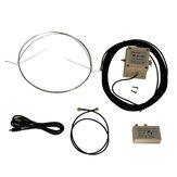 MLA-30 Döngü Aktif Alıcı Anten Düşük Gürültü Orta Dalga Kısa Dalga Anten Balkon Montajı