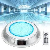 630LED RGB Underwater Swimming Piscina Fonte de luz IP68 da lâmpada + Controle remoto
