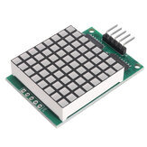 3pcs DM11A88 8x8 Square Matrix Red LED Dot Display Module UNO MEGA2560 DUE Raspberry Pi Geekcreit for Arduino - products that work with official Arduino boards