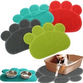 Pet Dog Puppy PVC Cat Dish Bowl Feeding Food Placemat Mat Wipe Clean Mat