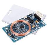 Decodificador de cartão de identificação RFID Módulo leitor 125 KHz TK4100 UART Placa de saída para controle de acesso DIY modificação