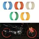 دراجة نارية دراجة حافة الشريط شريط عجلة صائق ملصقا 6 ألوان