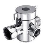 Válvula de desviador de tres vías Válvulas de adaptador de interruptor de cabezal de ducha para bidé de inodoro